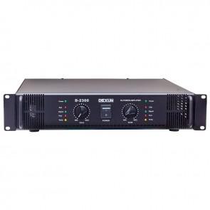 DEXUN D-2300 70V-100V 2 X 200 WATT HAT TRAFOLU POWER ANFİ