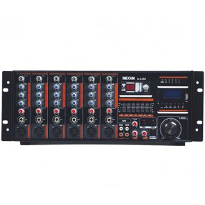 DEXUN D-2400 400W USB-SD 70-100V HAT TRAFOLU MIXER KÜP ANFİ