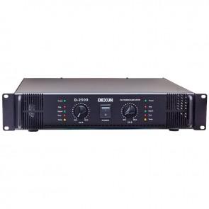 DEXUN D-2500 70V-100V 2 X 350 WATT HAT TRAFOLU POWER ANFİ