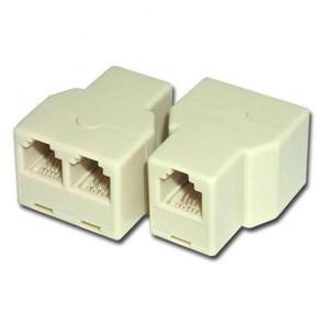 Dişi/2Dişi Rj11 Telefon Ara Birleştirici (10'lu Paket)
