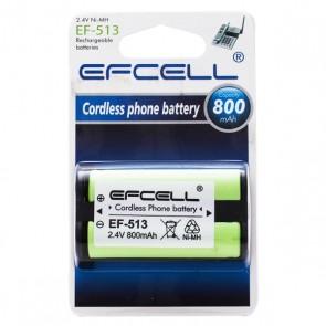 EFCELL EF-513 2.4V 800MAH TELSİZ TELEFON PİLİ