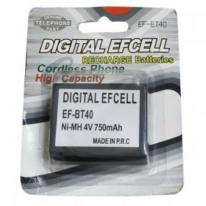 EFCELL EF-BT40 4 V-750 MAH TELSİZ TELEFON PİLİ