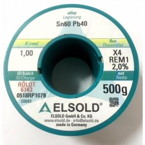 Elsold Els-Pb100/500 Makara Lehim Teli 1.00Mm 500Gr