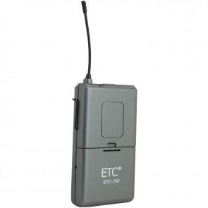 ETC-100 YEDEK YAKA TELSİZ MİKROFON