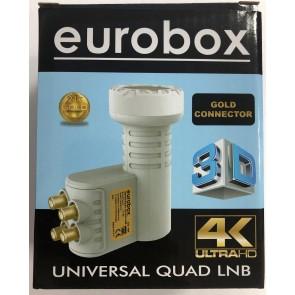 Eurobox EU-444 Universal Quad Lnb 4 Lü Lnb Dörtlü Lnb