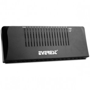 EVEREST ESW-116P * ESW-1016D 16 PORT ETHERNET SWITCH 10/100 MBPS