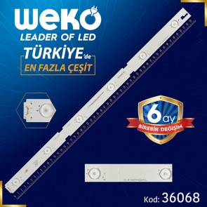 EVERLİGHT IC-B-HWCR49D640L - ZNL60600-AC - 54 CM 6 LEDLİ - (WK-22)  BAKIR FR4 34726