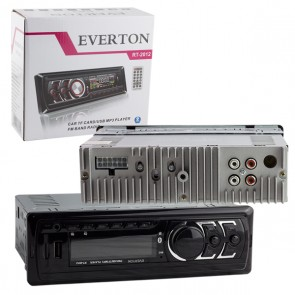 EVERTON RT-2012BT USB/SD/FM/AUX/BT MEKANİKSİZ OTO TEYP 4 X 50 WATT BLUETOOTH LU