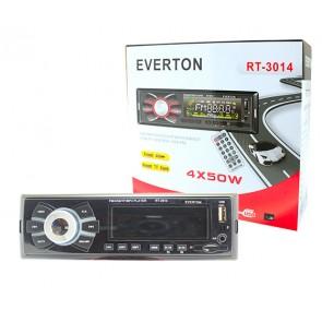 EVERTON RT-3014 USB/SD/FM/AUX MEKANİKSİZ OTO TEYP 4 X 50 WATT