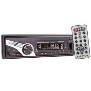 EVERTON RT-7007 ÇIKMA KAFA USB/SD/FM/AUX MEKANİKSİZ OTO TEYP 4 X 50 WATT
