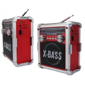 EVERTON RT-830 ŞARJLI + PİLLİ + FENERLİ 3 BAND RADYO (USB+SD+FM)