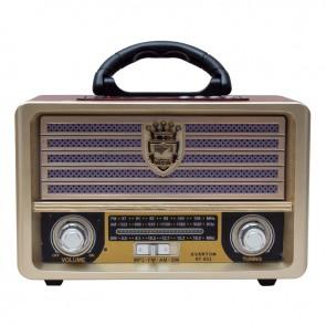 EVERTON RT-852 USB/SD/FM/BLUETOOTH DESTEKLİ NOSTALJİK RADYO