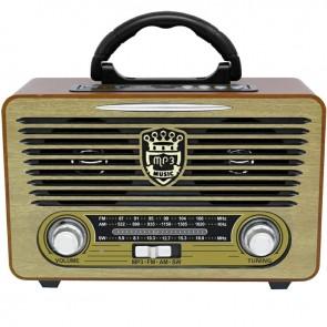 EVERTON RT-853 USB/SD/FM/BLUETOOTH DESTEKLİ NOSTALJİK RADYO