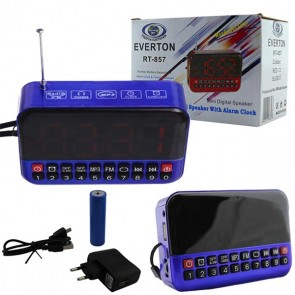EVERTON RT-857 USB Lİ RADYO * MÜZİK KUTUSU USB/SD/FM/SW