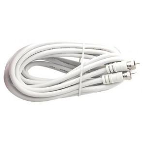 F Konnektörlü Hazır Anten Kablosu 5Mt