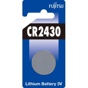 Fujitsu CR2430 3V Lithium Pil Blister
