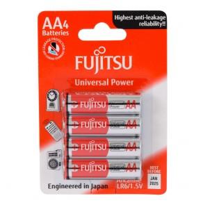 Fujitsu Universal Power LR06 Alkaline AA Kalem Pil 4Lü Blister