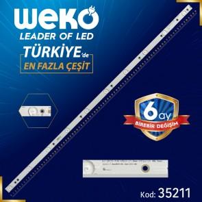 GJ-2K15-430-D510-17.8MM-V4(PITCH 88.5MM) - 84.4 CM 10 LEDLİ - (WK-254)