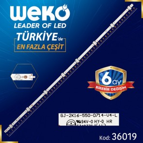GJ-2K16-550-D714-V4-L  01N31 7 LEDLİ 54.7 CM