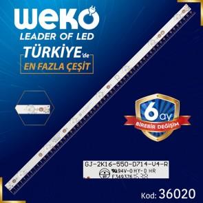 GJ-2K16-550-D714-V4-R 01N32 7 LEDLİ 56.7 CM
