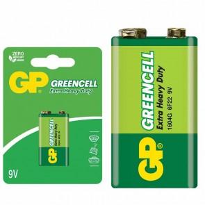 GP 1604GLF GREENCELL 9 VOLT BLİSTERLİ PİL TEKLİ FİYAT