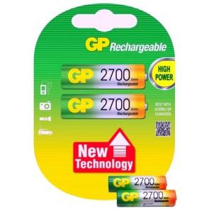 Gp 2700 Mah Şarjlı Kalem Pil AA R6