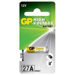 GP 27A 12V Alarm Pili (5'li Paket)