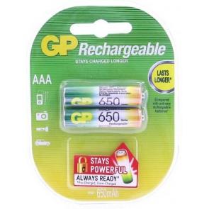 Gp 650 Mah Şarj Edilebilir Pil Aaa Rechargeable