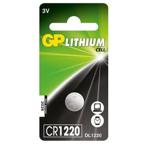 GP CR1220 3V Lithium Pil (5'li Paket)