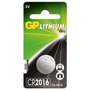 GP CR2016 3V Lithium Pil (5'li Paket)