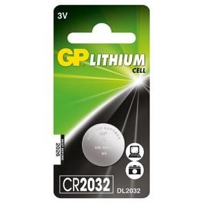 GP CR2032 3V Lithium Pil (5'li Paket)