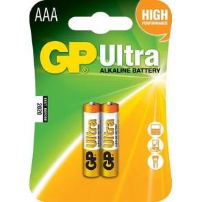 GP Ultra Alkaline aaa İnce Kalem Pil 1.5V (Gp24Au-2U2)