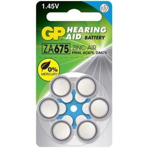 GP ZA675 1.4v İşitme Kulaklık Pili
