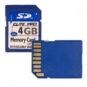 HAFIZA KARTI 4 GB SD ELITE PRO 94110-925.A00LF 20456871