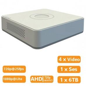 HAIKON DS-7104HGHI-F1 4 KANAL 1080P LITE HD-TVI DVR KAYIT CİHAZI
