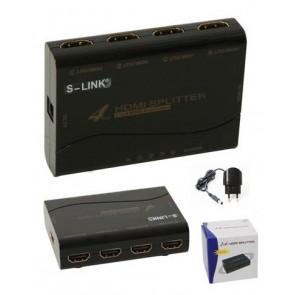 HD-724P Hdmi Çoklayıcı Splitter 1X4