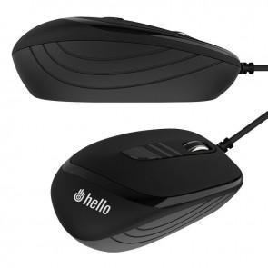 HELLO HL-4627 1600DPI 3D USB KABLOLU OPTİK MOUSE