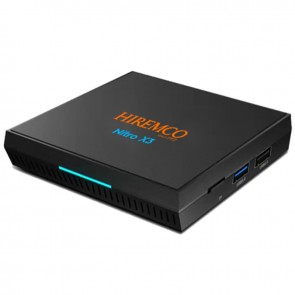 HIREMCO NITRO X3 ANDROID 9.0 BOX 4GB DDR3 RAM 32GB HAFIZA DAHİLİ WİFİ NETFLIX UYDU ALICISI