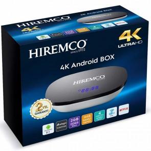 HIREMCO SMART 2 4K 8.1 ANDROID BOX 2GB DDR3 RAM DAHİLİ WİFİ NETFLIX UYDU ALICISI