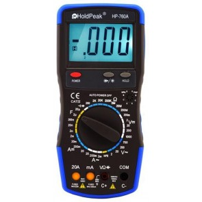 Holdpeak HP-760A Multimetre / Ölçü Aleti