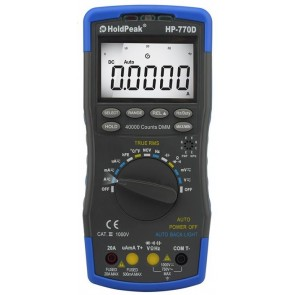 Holdpeak 770D Multimetre / Ölçü Aleti