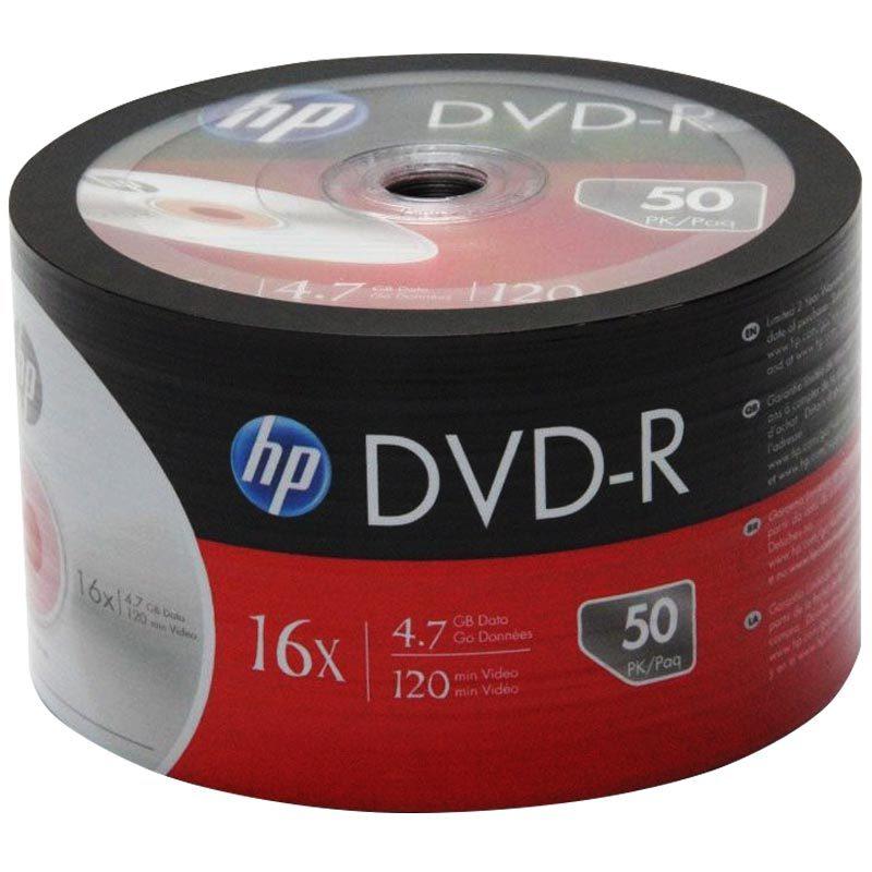 HP DME00070-3 DVD-R 4.7 GB 120 MİN 16X PAKET FİYAT