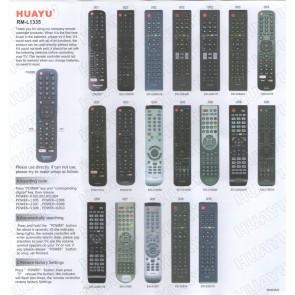 Huayu RM-L1335 Hisense Lcd Tv Universal Kumandası Netflix Youtube