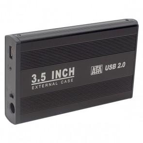 HYTECH HY-HDC30 HARİCİ 3.5 USB 2.0 SATA HARDDISK KUTUSU SİYAH
