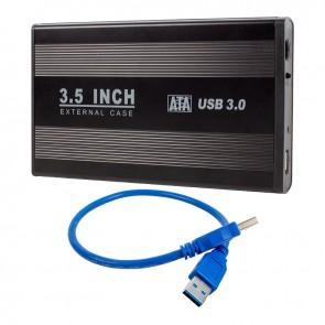 HYTECH HY-HDC33 HARİCİ 3.5 USB 3.0 SATA HARDDISK KUTUSU SİYAH