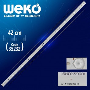 IC-A-HWT32D042 - 180-W00-320000H - 63 CM 10 LEDLİ - (WK-255)