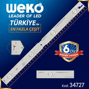 IC-B-HWCR43D641R - ZLS60601-AB - 37.2 CM 4 LEDLİ - (WK-23)