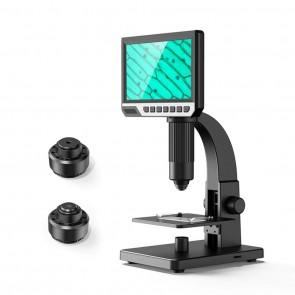 Inskam315 2000X 12MP Dijital Mikroskop Büyüteç 7 IPS Ekran PCB 2 Lens