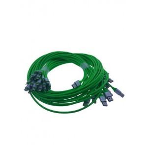Iphone Şarj Ve Data Silikon Kablosu Yeşil 5*Li Paket (5 Adet)110cm