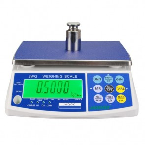 Jadever JWQ-6 Dijital Hassas Terazi - Hassasiyet: 0.2 gr. Max: 6 kg.